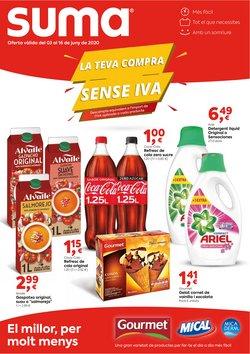 Catálogo Suma Supermercados en Vic ( Publicado hoy )