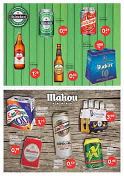 Ofertas de Cerveza sin alcohol en Suma Supermercados