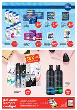 Ofertas de Tampax en Suma Supermercados