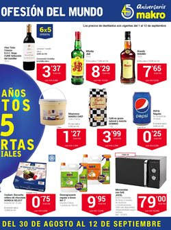 Ofertas de Whisky  en el folleto de Makro en Sanlúcar de Barrameda