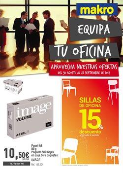 Ofertas de Paquete de papel  en el folleto de Makro en Madrid