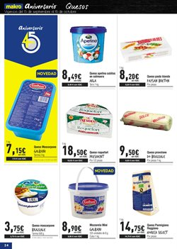 Ofertas de Queso  en el folleto de Makro en Las Palmas de Gran Canaria