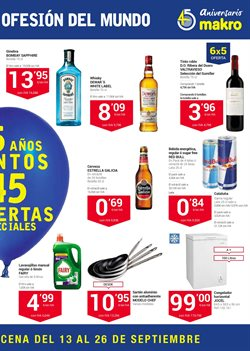 Ofertas de Whisky  en el folleto de Makro en Madrid