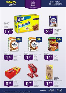 Ofertas de Chocolate  en el folleto de Makro en Madrid