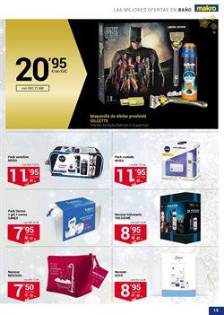 Ofertas de Gillette  en el folleto de Makro en La Orotava