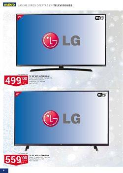 Ofertas de Televisores  en el folleto de Makro en Las Rozas