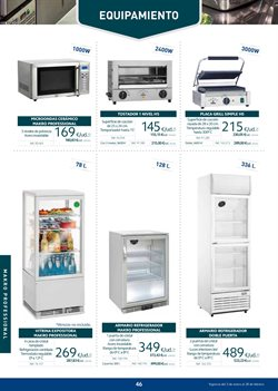 Ofertas de Microondas  en el folleto de Makro en La Orotava