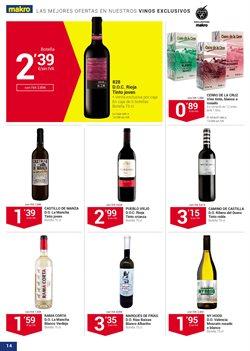 Ofertas de Vino tinto  en el folleto de Makro en Madrid