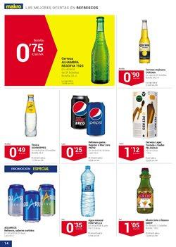 Ofertas de Cerveza  en el folleto de Makro en La Orotava