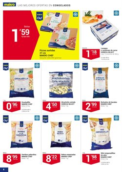 Ofertas de Pizza  en el folleto de Makro en Madrid