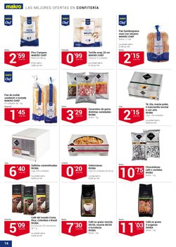 Ofertas de Chocolate  en el folleto de Makro en Valencia