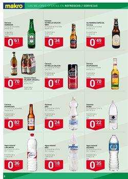 Ofertas de Cerveza  en el folleto de Makro en Sanlúcar de Barrameda
