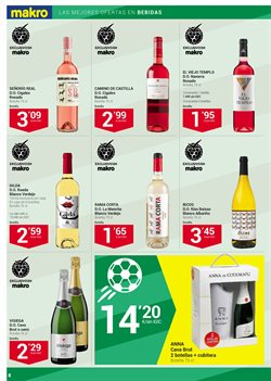 Ofertas de Vino blanco  en el folleto de Makro en La Orotava