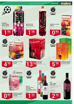 Ofertas de Vino tinto  en el folleto de Makro en Barcelona