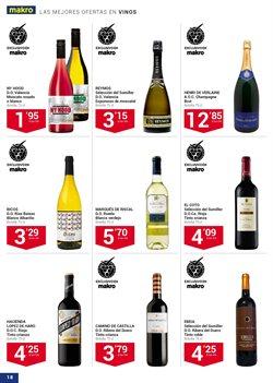 Ofertas de Vino tinto  en el folleto de Makro en Sanlúcar de Barrameda