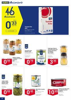 Ofertas de Tomate frito  en el folleto de Makro en Madrid