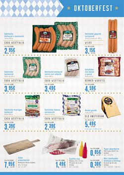 Ofertas de Salchichas  en el folleto de Makro en Madrid