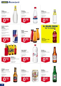 Ofertas de Red Bull  en el folleto de Makro en Madrid