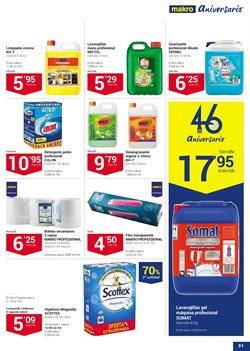Ofertas de Scottex  en el folleto de Makro en Madrid