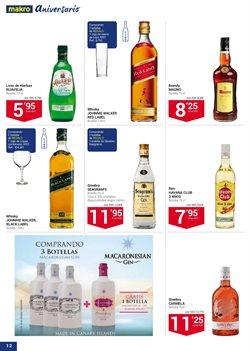 Ofertas de Ginebra  en el folleto de Makro en La Orotava