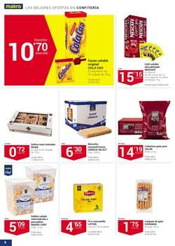 Ofertas de Cola Cao  en el folleto de Makro en San Cristobal de la Laguna (Tenerife)