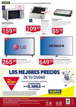 Ofertas de Electrodomésticos  en el folleto de Makro en Las Palmas de Gran Canaria