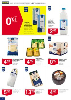 Ofertas de Queso  en el folleto de Makro en Madrid