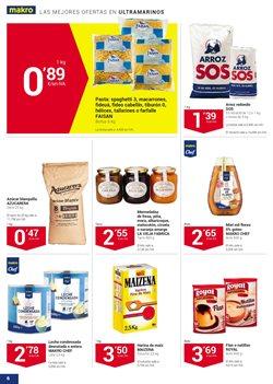 Ofertas de Pasta  en el folleto de Makro en Madrid
