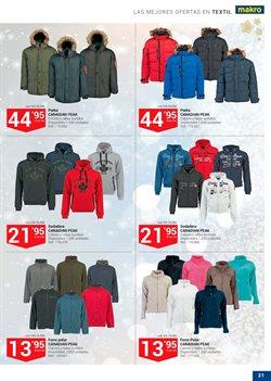 Ofertas de Ropa de abrigo  en el folleto de Makro en Murcia