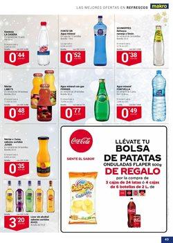 Ofertas de Agua  en el folleto de Makro en San Cristobal de la Laguna (Tenerife)