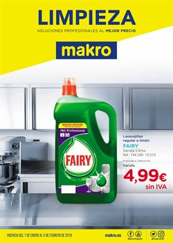 Ofertas de Fairy  en el folleto de Makro en Utrera