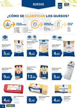 Ofertas de Queso fundido  en el folleto de Makro en Barcelona