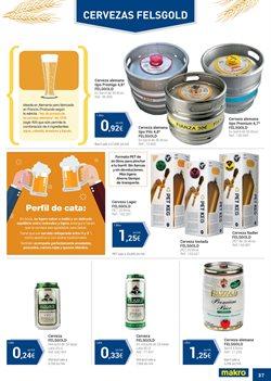 Ofertas de Cerveza  en el folleto de Makro en Granollers
