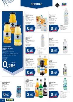 Ofertas de Agua  en el folleto de Makro en Valencia