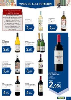 Ofertas de Vinos de California  en el folleto de Makro en Barcelona