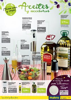 Ofertas de Pequeños electrodomésticos  en el folleto de Makro en Telde