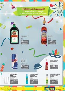 Ofertas de Bebidas  en el folleto de Makro en San Cristobal de la Laguna (Tenerife)