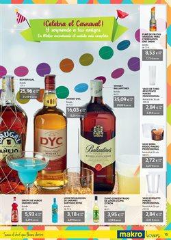 Ofertas de Whisky  en el folleto de Makro en Pamplona