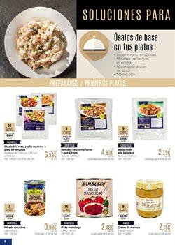 Ofertas de Pasta preparada  en el folleto de Makro en Madrid