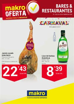 Ofertas de Hiper-Supermercados  en el folleto de Makro en Terrassa