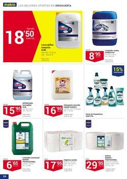 Ofertas de Productos de limpieza  en el folleto de Makro en Málaga