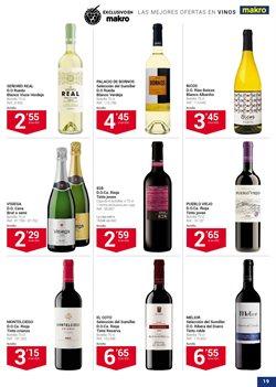 Ofertas de Vino blanco  en el folleto de Makro en San Cristobal de la Laguna (Tenerife)