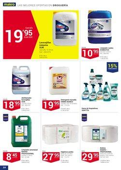 Ofertas de Detergente  en el folleto de Makro en Las Palmas de Gran Canaria