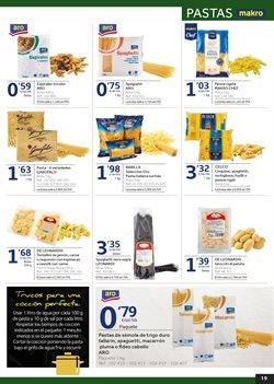 Ofertas de Pasta  en el folleto de Makro en Sagunt-Sagunto