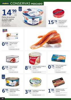 Ofertas de Conservas de pescado  en el folleto de Makro en Murcia