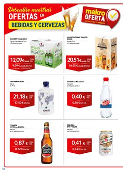 Ofertas de Vodka  en el folleto de Makro en Madrid