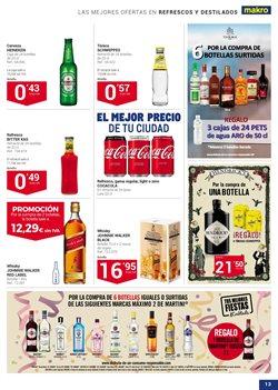Ofertas de Ginebra  en el folleto de Makro en Bilbao