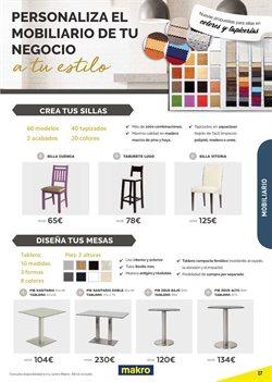 Ofertas de Muebles  en el folleto de Makro en Alicante