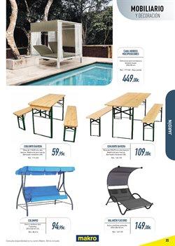 Ofertas de Muebles de jardín  en el folleto de Makro en Madrid