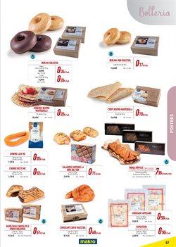 Ofertas de Pastelitos  en el folleto de Makro en Madrid